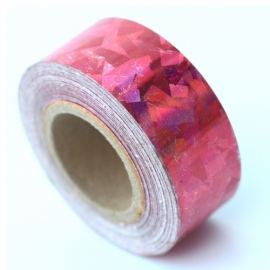 Crackle adhesive tape 19mm*12 m with paper